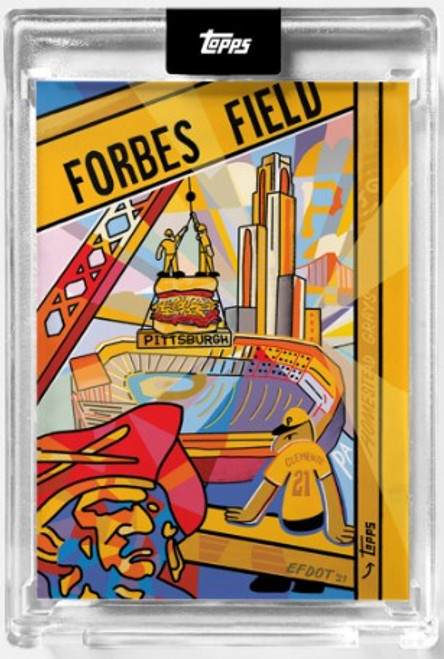2021 Topps X - Efdot Iconic Stadium Series 2 - Card 9 - Forbes Field- (PRE-SALE)