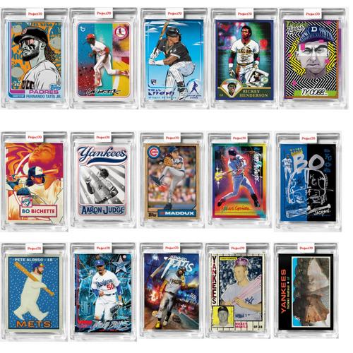 Topps Project 70 - 15 Card Bundle - Cards 271-285 (Pre-Sale)
