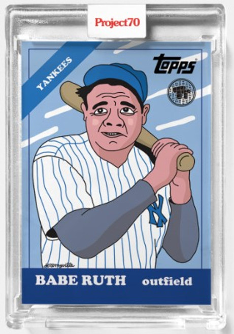 Topps Project 70 Babe Ruth #287 by Toy Tokyo (PRE-SALE)