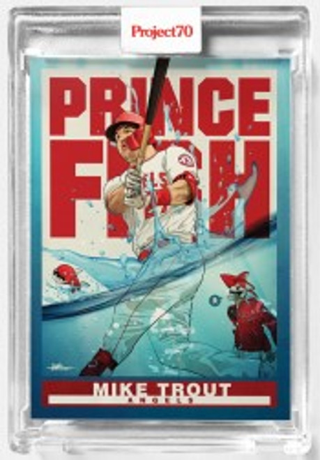 Topps Project 70 Mike Trout #290 by Quiccs (PRE-SALE)