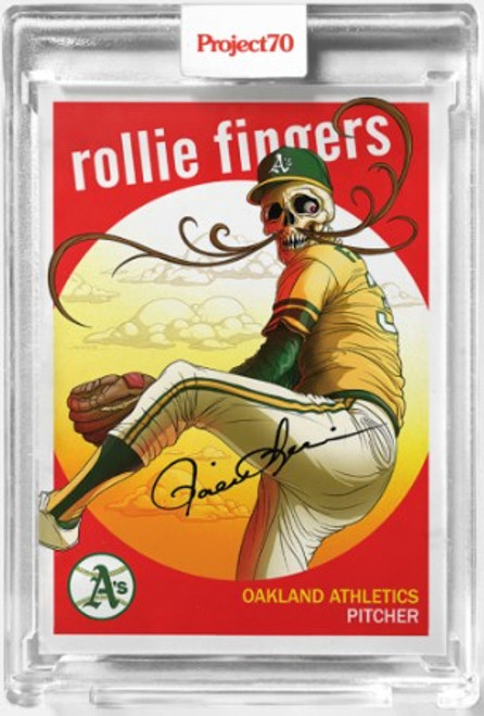 Topps Project 70 Rollie Fingers #297 by Alex Pardee (PRE-SALE)
