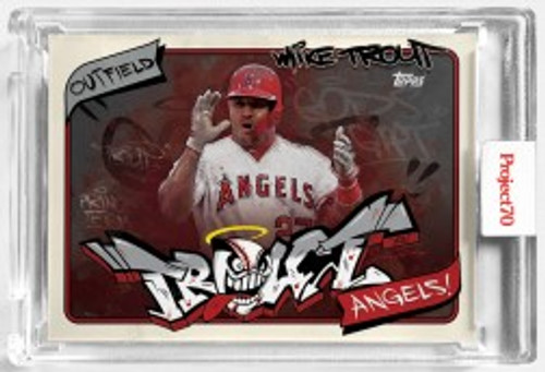Topps Project 70 Mike Trout #302 by SoleFly (PRE-SALE)