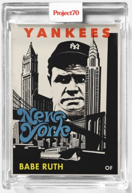 Topps Project 70 Babe Ruth #367 by Fucci (PRE-SALE)