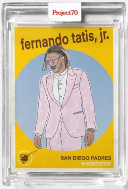 Topps Project 70 Fernando Tatis Jr #402 by Oldmanalan (PRE-SALE)