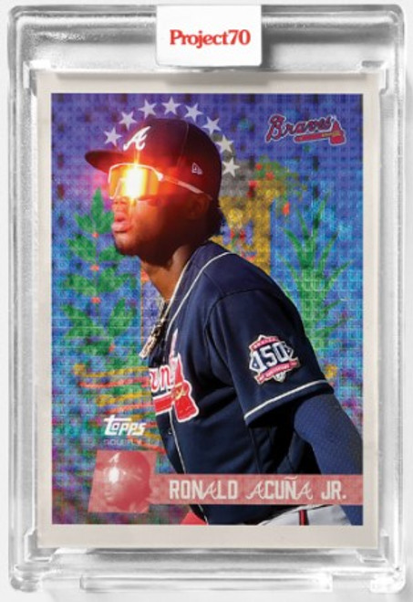 Topps Project 70 Ronald Acuna Jr #417 by SoleFly (PRE-SALE)