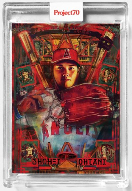 Topps Project 70 Shohei Ohtani #437 by Andrew Thiele (PRE-SALE)
