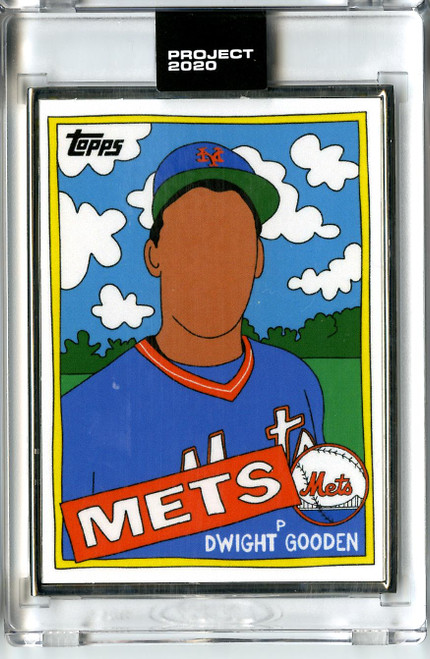 Topps Project 2020 - Dwight Gooden #119 Artist Proof by Fucci #10/20