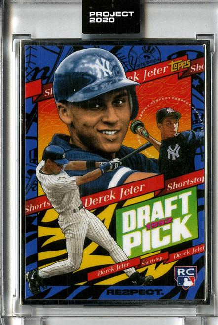 Topps Project 2020 - Derek Jeter #200 Artist Proof by Tyson Beck #14/20