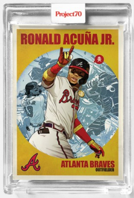 Topps Project 70 Ronald Acuna Jr. #474 by Quiccs (PRE-SALE)