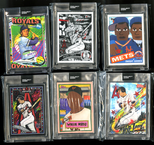 Topps Project 2020 27-Card Artist Proof /20 Lot