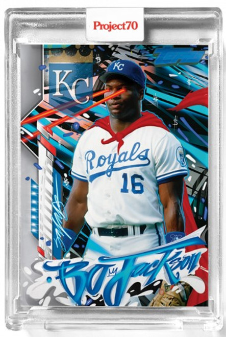 Topps Project 70 Bo Jackson #490 by King Saladeen (PRE-SALE)