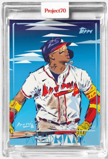 Topps Project 70 Ronald Acuna Jr. #507 by Naturel (PRE-SALE)