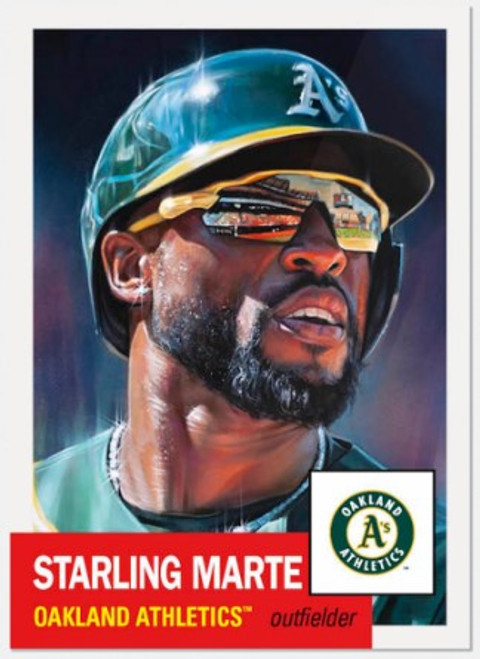 Topps Living Set - Card #447 - Starling Marte (Pre-Sale)