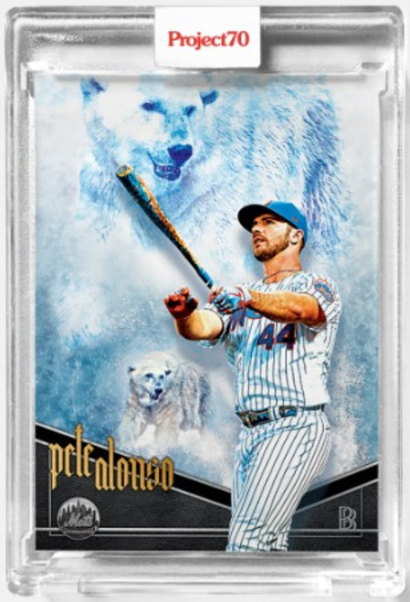Topps Project 70 Pete Alonso #542 by Ben Baller (PRE-SALE)