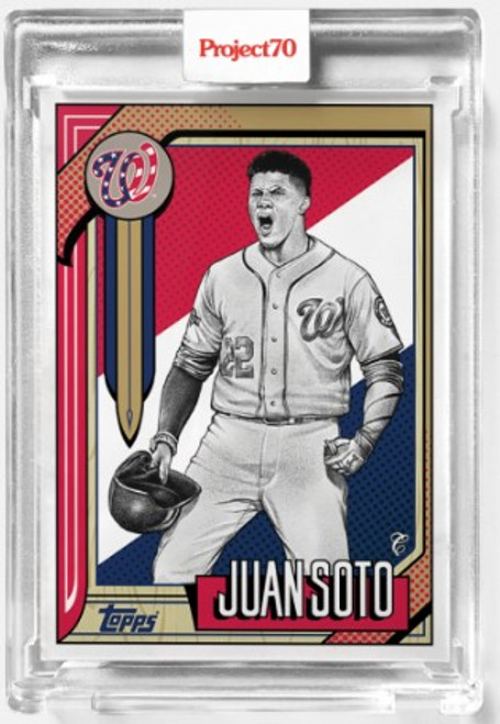 Topps Project 70 Juan Soto #544 by Mister Cartoon (PRE-SALE)