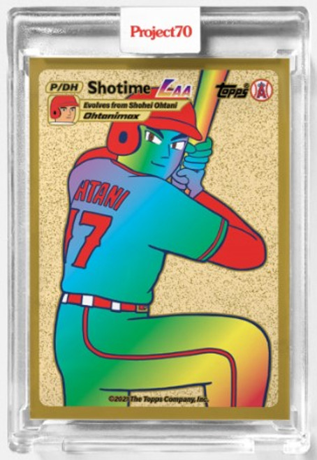 Topps Project 70 Shohei Ohtani #547 by Keith Shore (PRE-SALE)