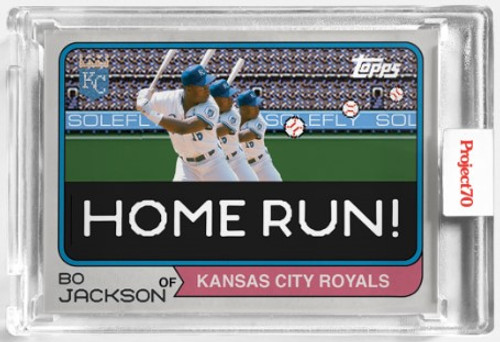 Topps Project 70 Bo Jackson #549 by Solefly (PRE-SALE)
