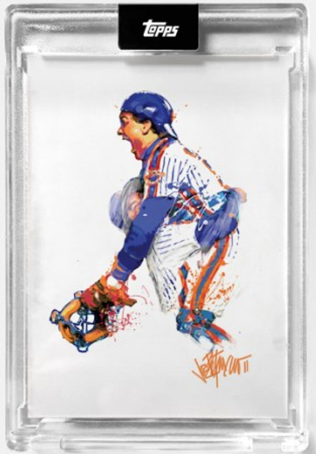 """2021 Topps X - ESPN 30for30 - """"Once Upon a Time in Queens"""" - Card #4 - Jumping For Joy by Joey Paints -  (PRE-SALE)"""