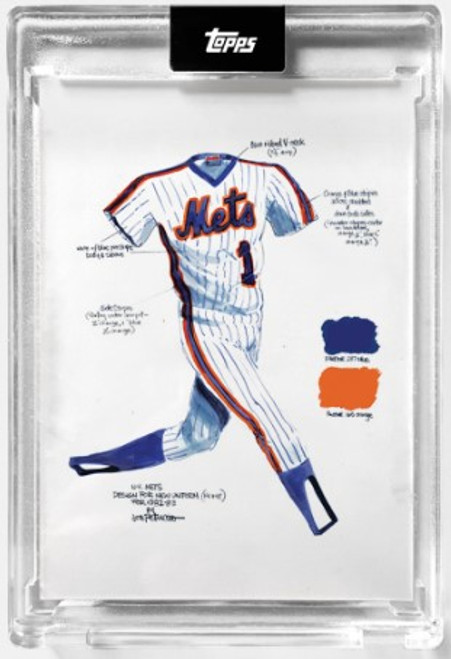 """2021 Topps X - ESPN 30for30 - """"Once Upon a Time in Queens"""" - Card #1 - The Uniform by Joey Paints -  (PRE-SALE)"""