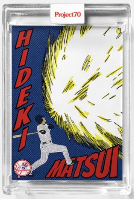 Topps Project 70 Hideki Matsui #554 by Oldmanalan (PRE-SALE)