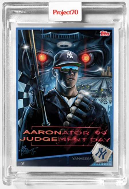 Topps Project 70 Aaron Judge #555 by CES (PRE-SALE)