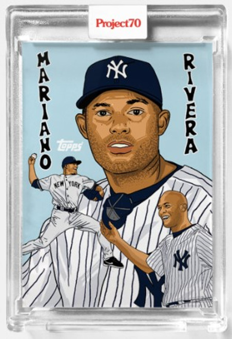 Topps Project 70 Mariano Rivera #556 by Market (PRE-SALE)