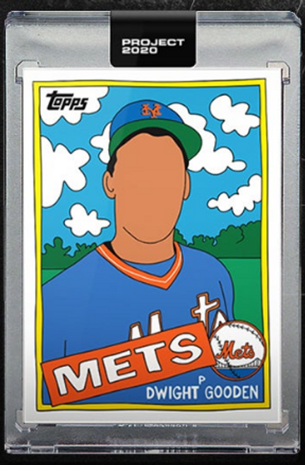 Dwight Gooden Topps Project 2020#137 Pre-sell 1985 Topps #620 by EfDot