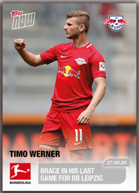 Topps NOW Timo Werner 193 -front