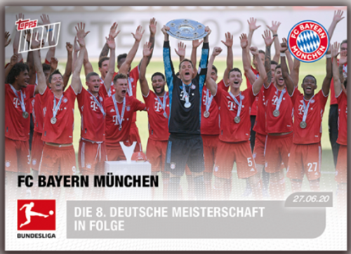 Topps NOW FC Bayern Munchen 194 -front
