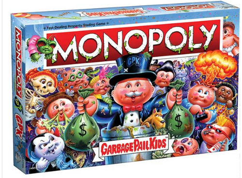 Hasbro Monopoly - Garbage Pail Kids - Board Game (IN-HAND)