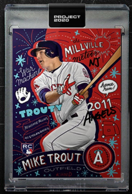 Topps Project 2020 Mike Trout - front