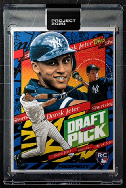 Topps Project 2020 Derek Jeter #200 by Tyson Beck- (PRE-SALE)