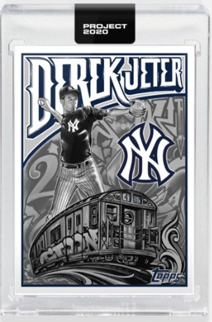 Topps Project 2020 Derek Jeter #219 by Mister Cartoon - (PRE-SALE)