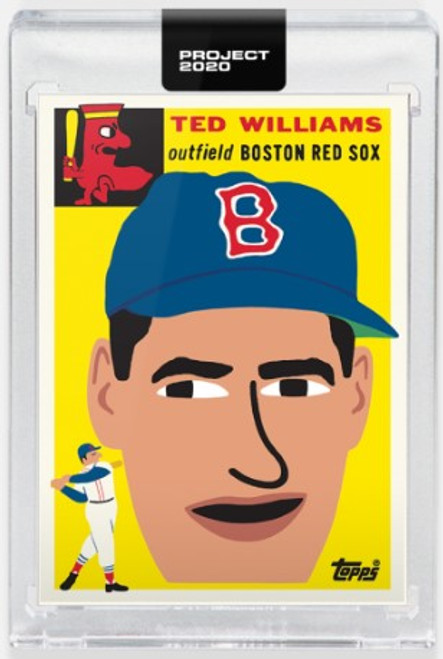 Topps Project 2020 Ted Williams #221 by Keith Shore - (PRE-SALE)