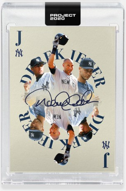 Topps Project 2020 Derek Jeter #235 by Oldmanalan - (PRE-SALE)