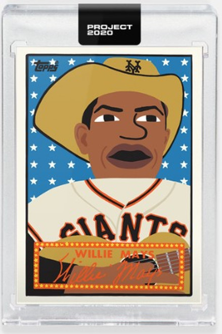 Topps Project 2020 Willie Mays #244 by Keith Shore- (PRE-SALE)