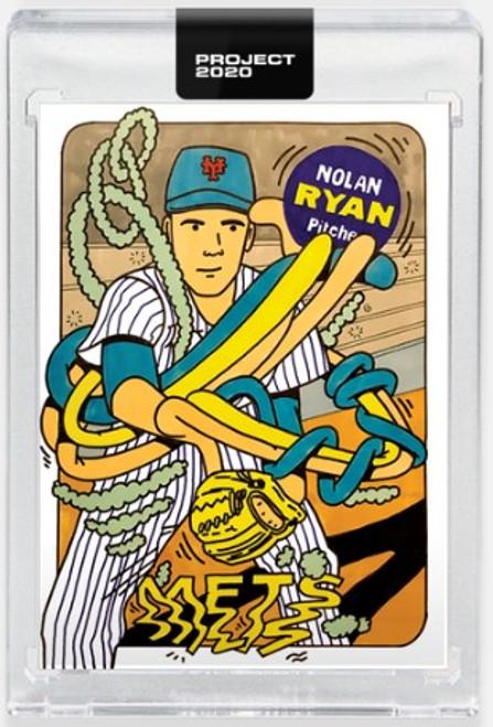 Topps Project 2020 Nolan Ryan #245 by Ermsy- (PRE-SALE)