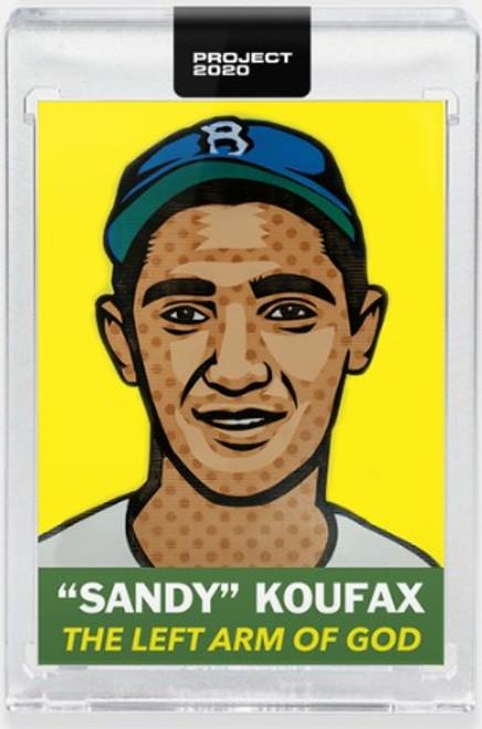 Topps Project 2020 Sandy Koufax #250 by Blake Jamieson - (PRE-SALE)