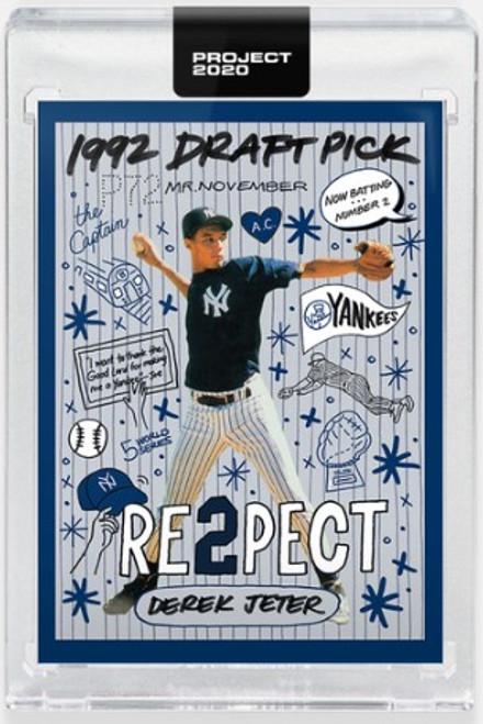 Topps Project 2020 Derek Jeter #251 by Sophia Chang - (PRE-SALE)