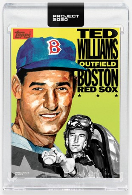 Topps Project 2020 Ted Williams #262 by Jacob Rochester - (PRE-SALE)