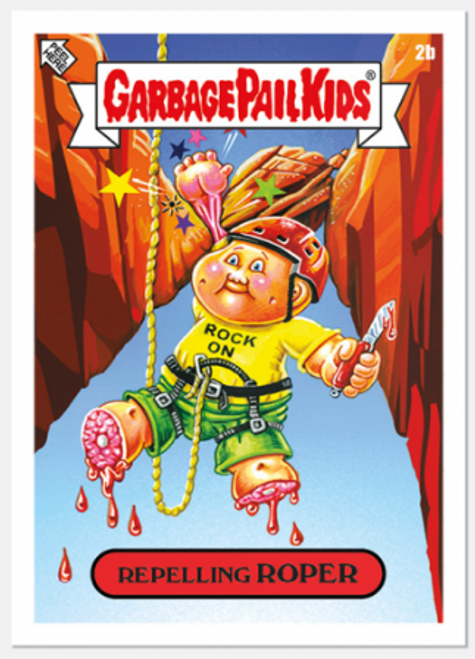 Garbage Pail Kids Bizarre Holidays: August - Week 1 (PRE-SALE)