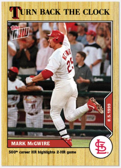 Turn Back The Clock- Mark McGwire  #128 - (PRESALE)
