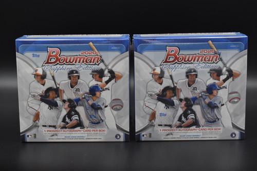 2020 Bowman Baseball Sapphire Edition Boxes