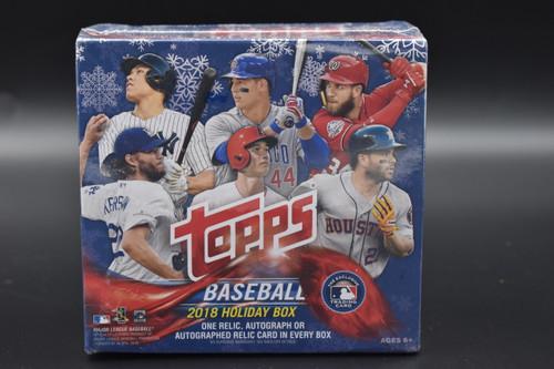 2018 Topps Holiday Baseball Box!