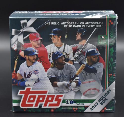 2019 Topps Holiday Baseball Box!