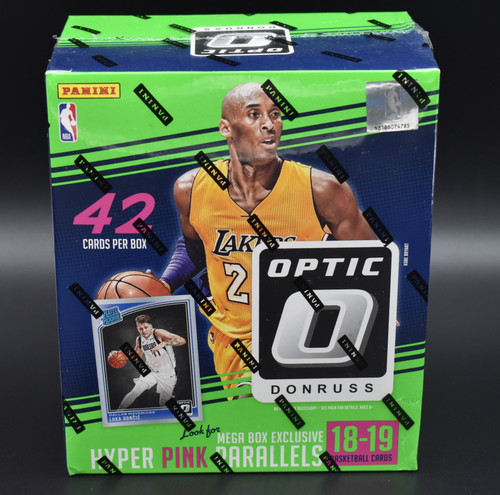2018-19 Panini NBA Donruss Optic Basketball factory sealed Mega Box!