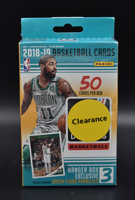 2018-19 Panini Donruss Basketball Hanger Box!