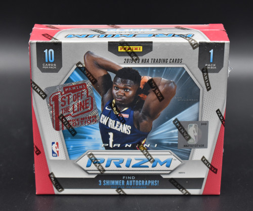 2019-20 Panini Prizm Basketball Premium 1st Off The Line FOTL Hobby Box!
