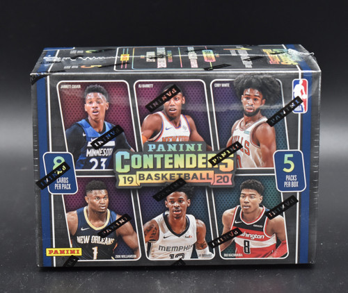 2019-20 Panini Contenders Basketball Blaster Box!