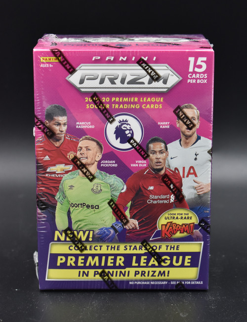 2019-20 Panini Prizm English Premier League Soccer Blaster Box!